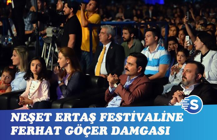 Ferhat Göçer, Neşet Ertaş Festivalinde sahne aldı