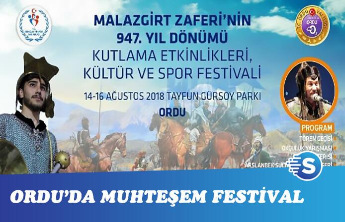 Ordu'da Malazgirt Zaferi festivallerle kutlanacak