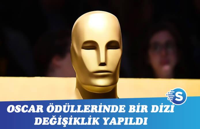 Oscar ödüllerinde ki değişiklikler ilan edildi