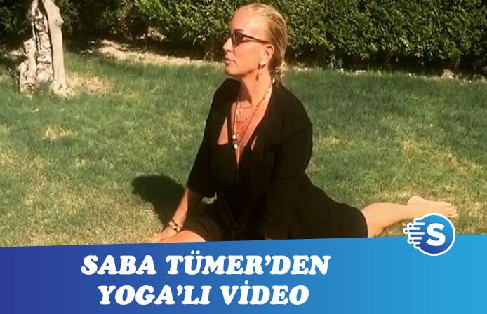 Saba ile Yoga'ya geldik