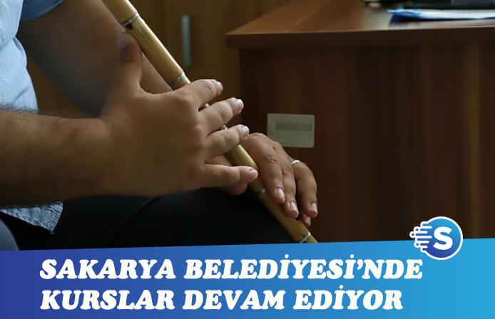 Sakarya Büyükşehir Belediyesi'nde kurslar son sürat