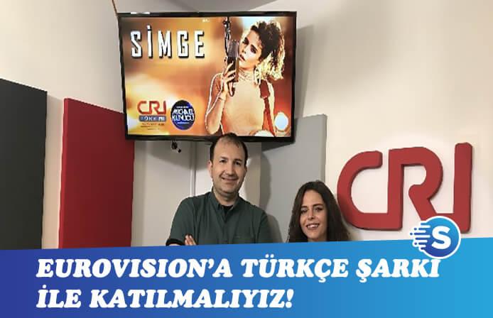 Simge: Eurovision'a Türkçe şarkı ile katılmalıyız