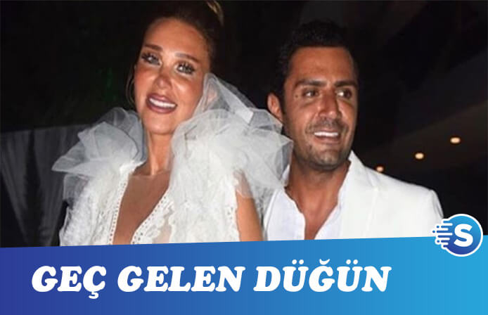 Seren Serengil ve Yaşar İpek Beyaz renk konseptli düğün yaptı