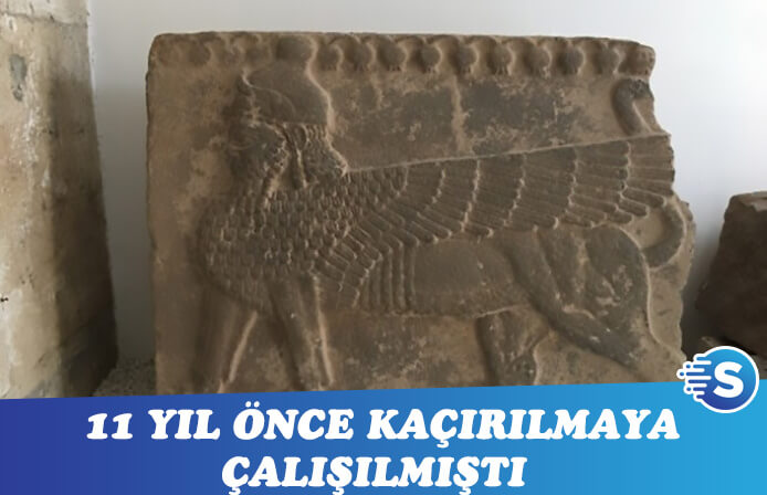 11 yıl önce kaçırılmaya çalışılan eser Gaziantep müzesinde