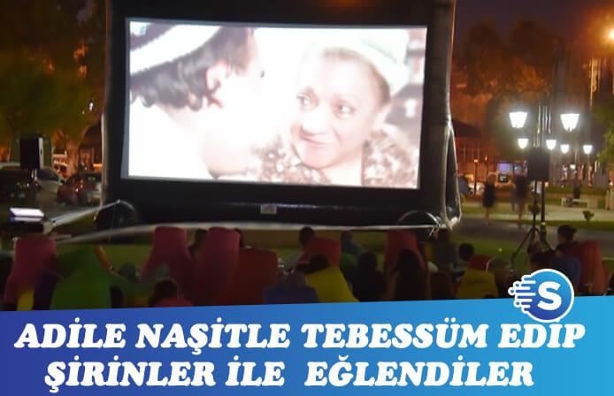 Süleymanpaşa'da açık hava sinema günleri devam etti
