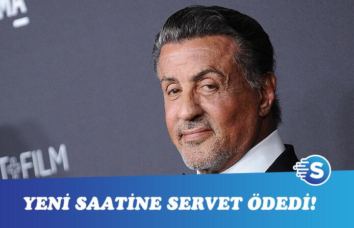Sylvester Stallone yeni saatine servet ödedi!