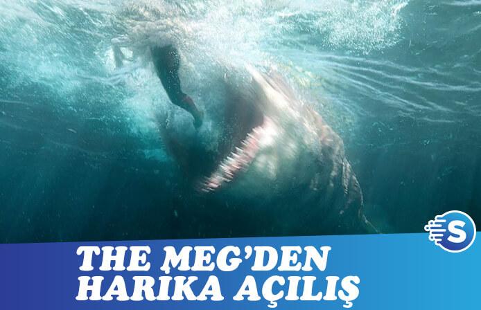 Jason Statham'lı The Meg'den gişede büyük sürpriz