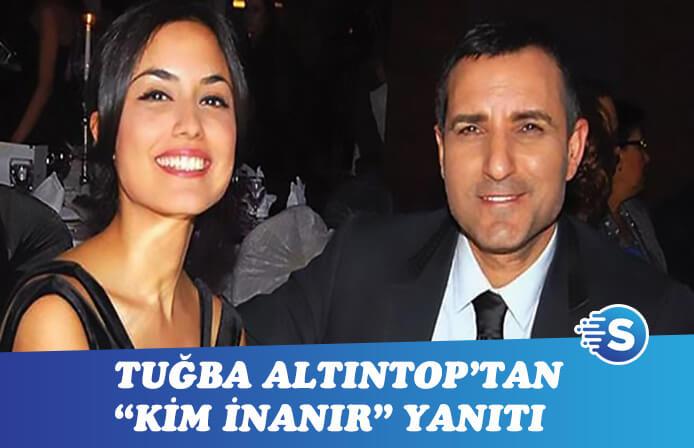 "Tuğba Altıntop 2. Sayfa'da Rafet El Roman'a ""Kim İnanır"" dedi!"