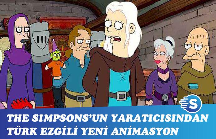 The Simpsons'un yaratıcısından Türk ezgili yeni animasyon