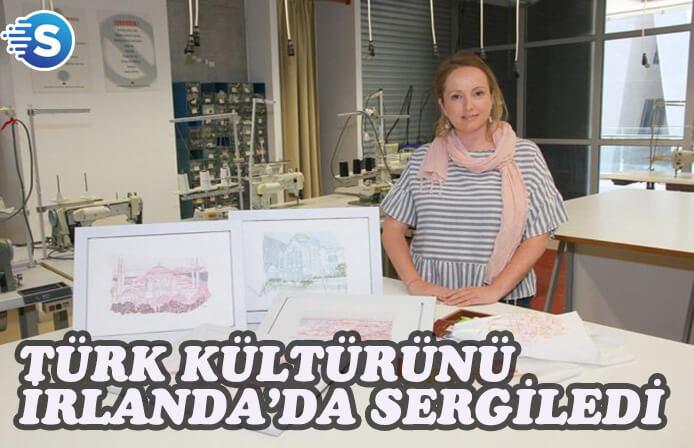Feile an Phobail festivalinde Türk kültürü sergilendi