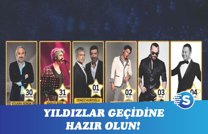 Turkcell Yıldızlı Geceler ile müzik şöleni başlıyor!