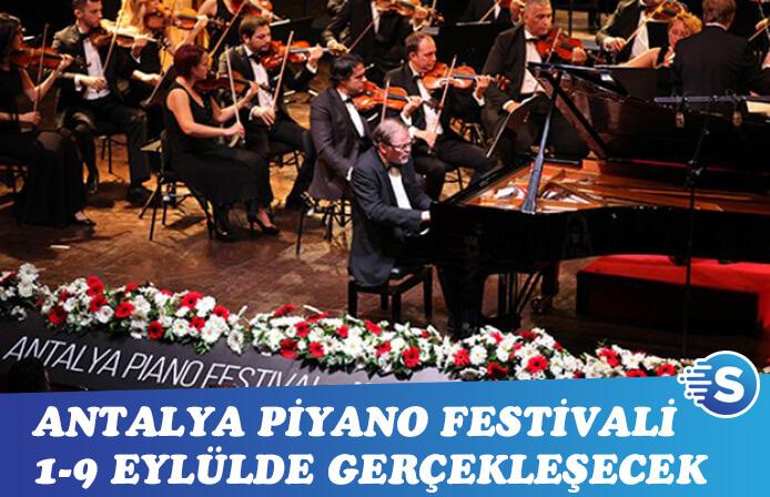 Bu yıl ki Antalya Piyano Festivali'nde 285 sanatçı sahnede olacak