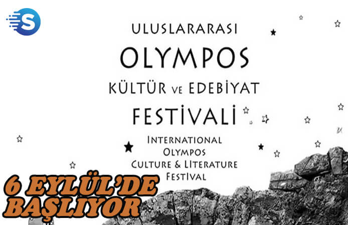 Uluslararası Kültür ve Edebiyat Festivali 6 Eylül'de Olympos'da başlıyor