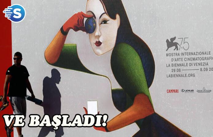 Venedik Film Festivali bugün başlıyor
