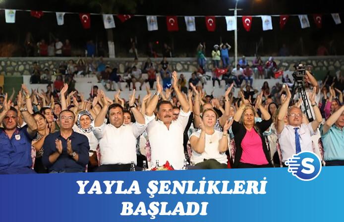 Şenliklerin açılışını Turgay Başyayla ve Caner Erdoğan yaptı