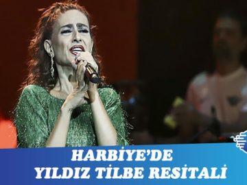 Harbiye'ye 'Yıldız' yağdı