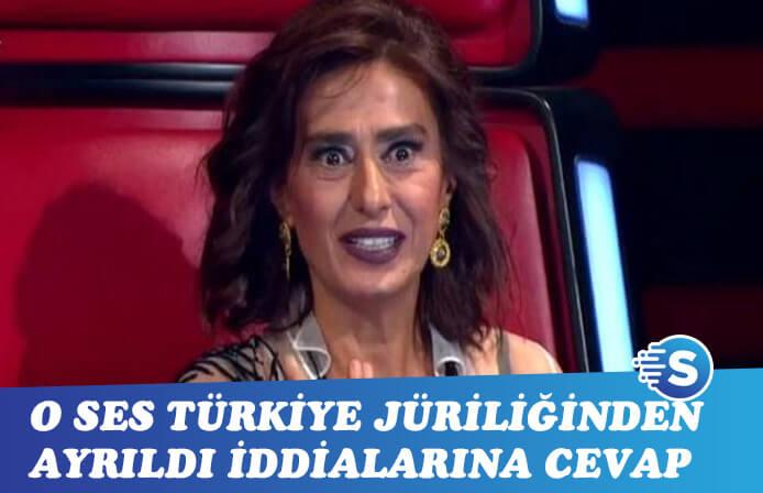 Yıldız Tilbe O Ses Türkiye'den ayrıldığı haberlerine dedikodu dedi