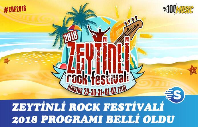 Zeytinli Rock Festivali için geri sayım başladı