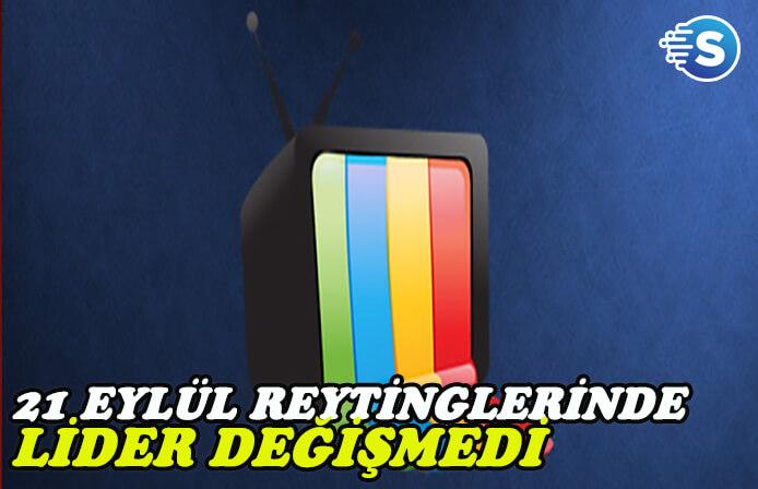 21 Eylül reytingleri - Arka Sokaklar, Gülperi ve İstanbullu Gelin kapışması