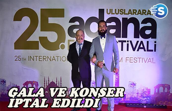 Yakup Yavru'nun ölümü nedeniyle Adana Film Festivali'nde gala ve konser iptal edildi