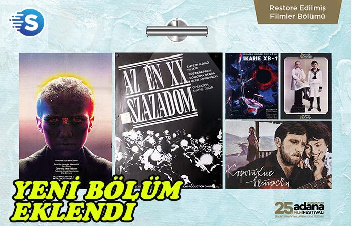 Uluslararası Adana Film Festivali'ne yeni bir bölüm eklendi