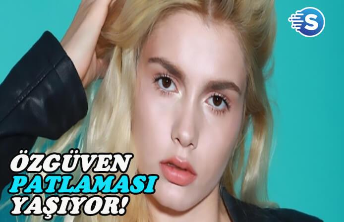 """Aleyna Tilki kendisini """"Baba"""" sandı"""