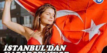 Amanda Cerny, İstanbul'dan kopamıyor!