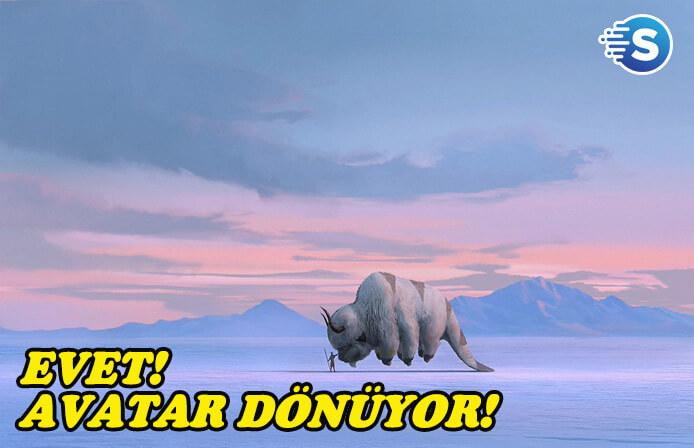 Avatar: Son Hava Bükücü geri dönüyor!