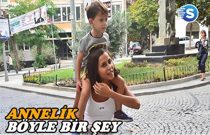 Derya Çavuşoğlu'nun tek eğlencesi oğlu