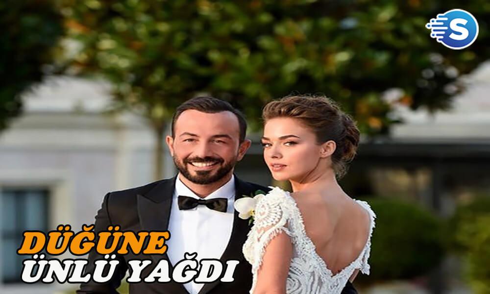 Bensu Soral ve Hakan Baş'ın düğününde ünlüler geçidi yaşandı