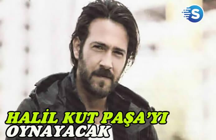 Berk Erçer, Kut'ül Ammare kahramanı Halil Kut'u oynayacak