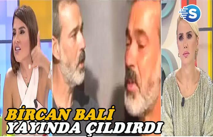 Bircan Bali canlı yayında çıldırdı! Murat Başoğlu'na demediğini bırakmadı