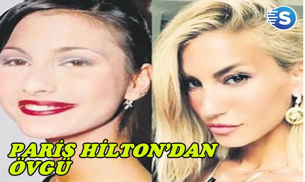 Paris Hilton'dan Çağla Şikel fotoğrafına yorum