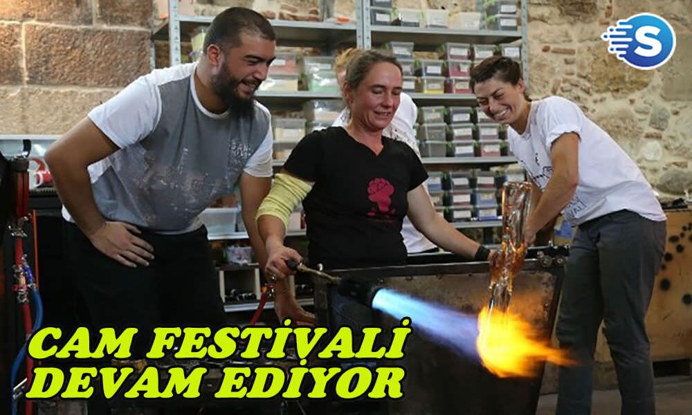 6. Uluslararası Cam Festivali devam ediyor