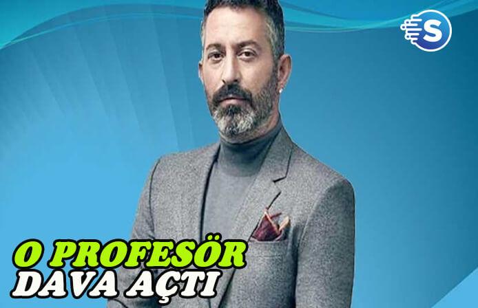 Cem Yılmaz karşıtlığı ile bilinen Profesör, ünlü komedyene dava açtı