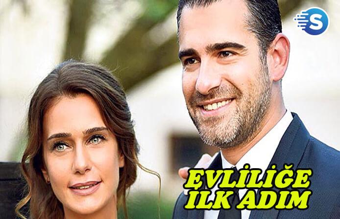Oyuncu Çiğdem Batur ve Onur Gülmek nişanlandı
