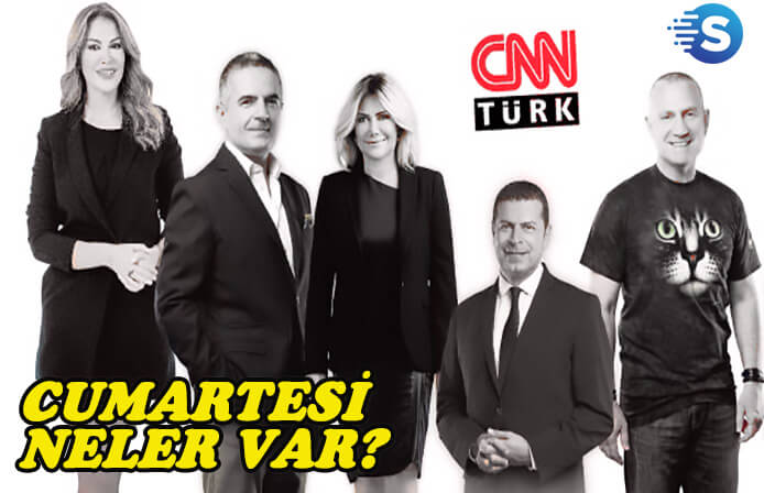 CNN Türk'ün dolu dolu Cumartesi programı