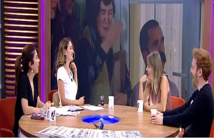 Çocuklar Duymasın'ın Havuç'u ve Simay'ı 2 Sayfa'ya konuk oldu
