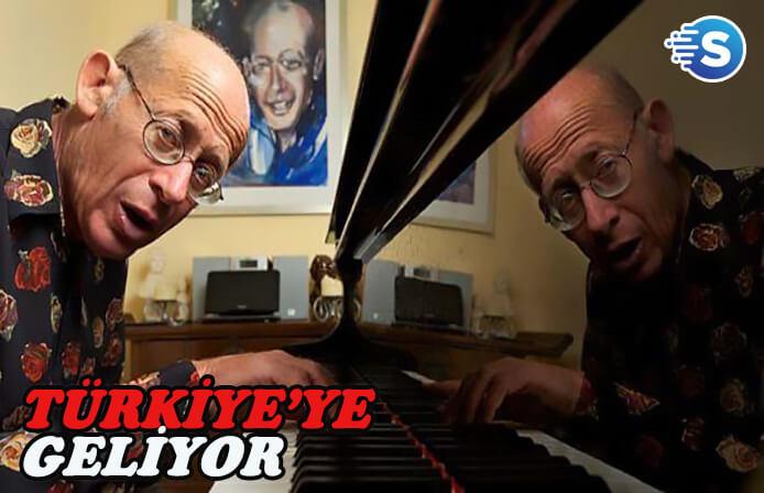 Dünyaca ünlü piyanist David Helfgott, Türkiye'de konser verecek