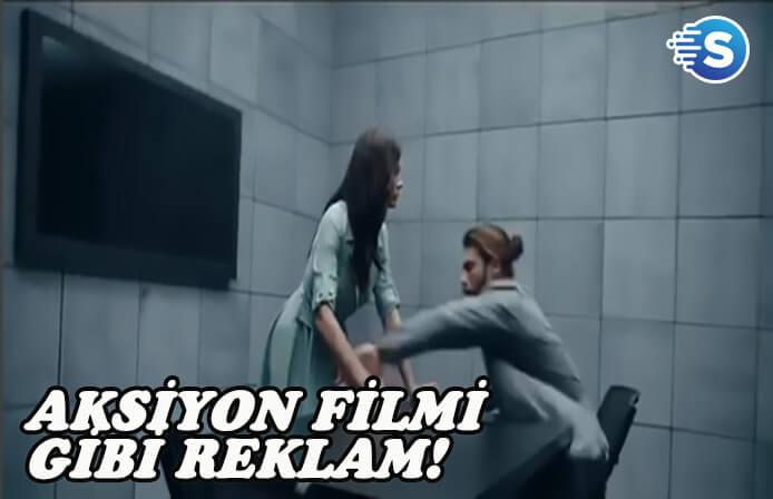 Demet Özdemir ve Can Yaman'ın aksiyon film gibi Cepteb reklamı yayınlandı