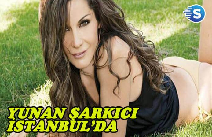 Despina Vandi, Klarnet Festivali'nde sahne almak için İstanbul'a geldi