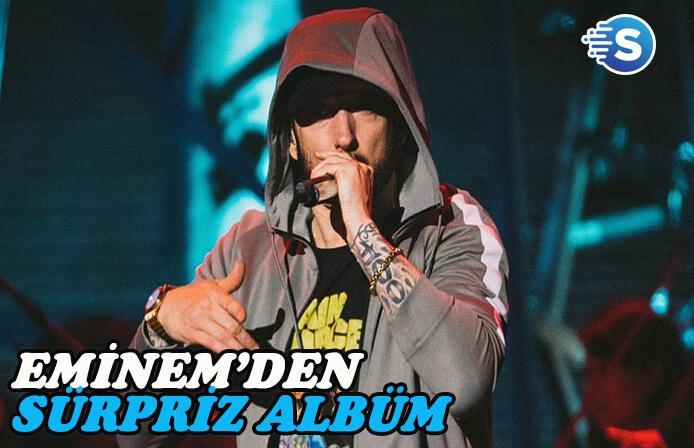 Eminem'den sürpriz albüm