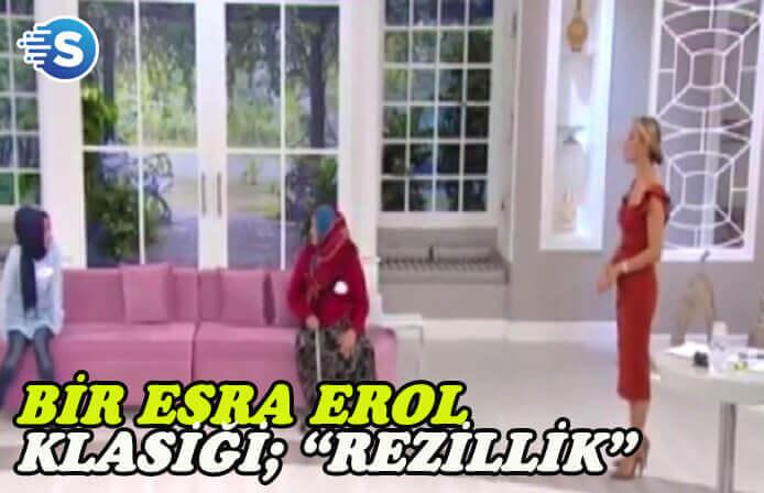 Esra Erol'un programında gelin-kaynana rezilliği