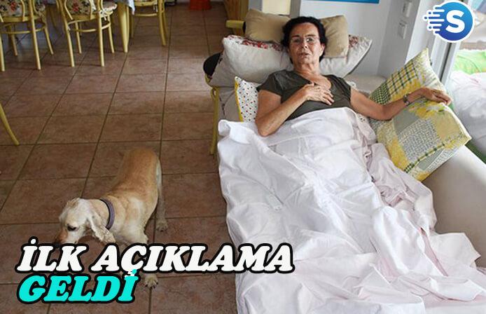 Düşüp ayağını kıran Fatma Girik'ten ilk açıklama!