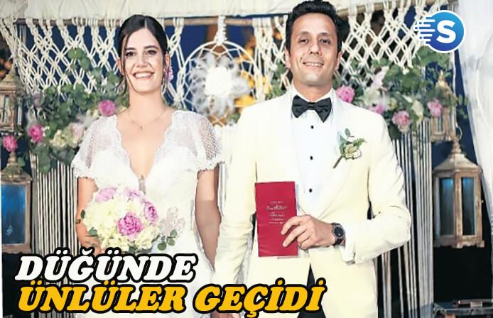 Müjgan Ferhan Şensoy Cem Öget düğününde ünlüler geçidi