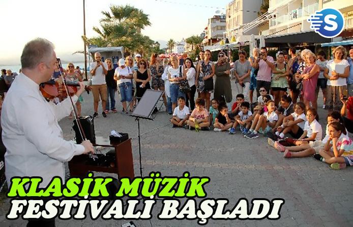 Fethiye'de Klasik Müzik Festivali rüzgarı esiyor