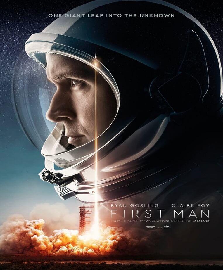 first man yeni afiş