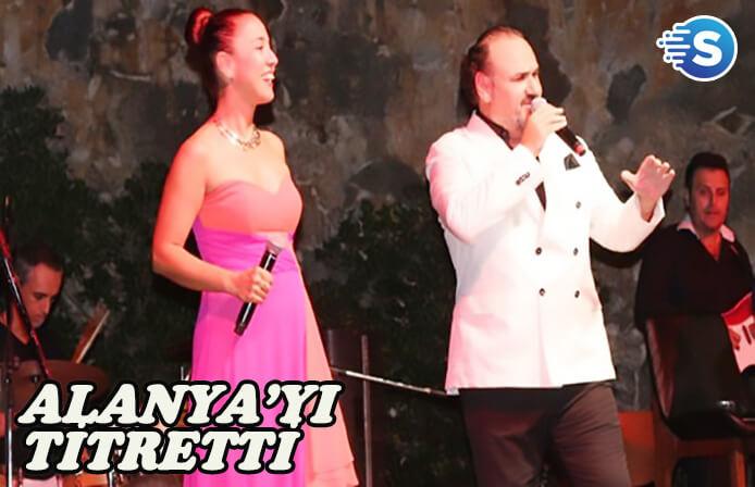 Hakan Aysev, Antik Kent Konserleri'nde sahne aldı