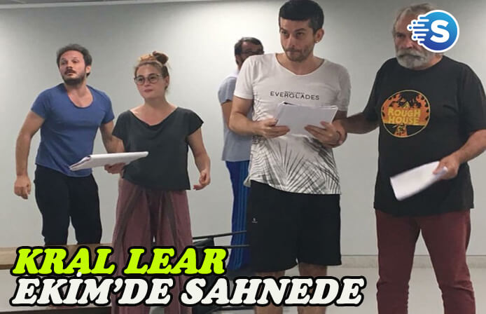 Haluk Bilginer'li Kral Lear Ekim'de sahnede
