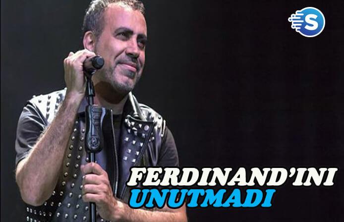 Haluk Levent dana'sı 'Ferdinand'ı unutmadı